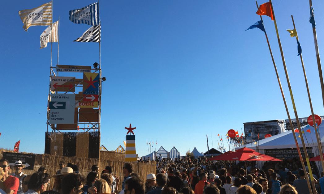 Ambiance générale pendant le festival des Francofolies à La Rochelle