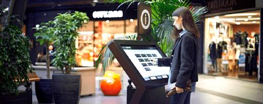 Information dynamique sur écrans tactiles