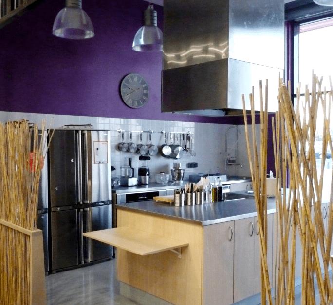 Espace d'atelier cuisine